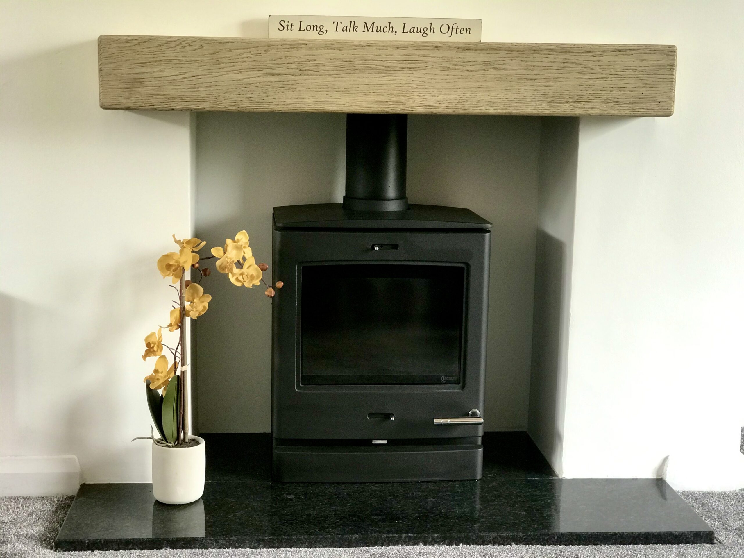 gw wood burners yeoman multi fuel wood burning stove oundle